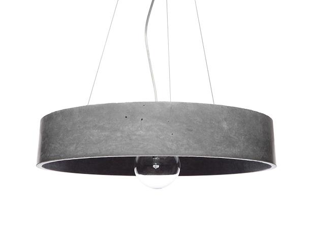 suspension beton great suspension mtal u bton blancgris. Black Bedroom Furniture Sets. Home Design Ideas