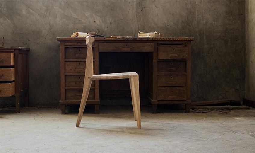 Orca la chaise en bois au design pur de la marque for Bois de la chaise