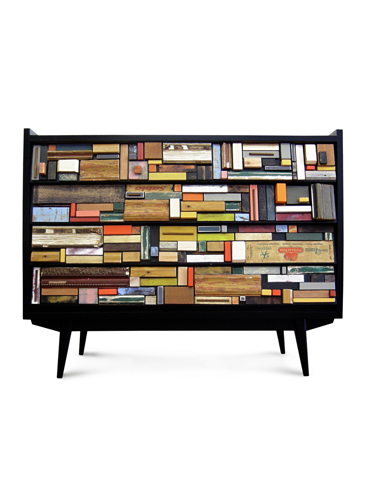Favela la ligne de meubles color s du designer br silien for Marque de meuble design