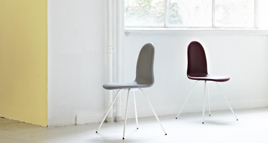 le retour de la chaise tongue de arne jacobsen ic ne du design danois my eco design. Black Bedroom Furniture Sets. Home Design Ideas
