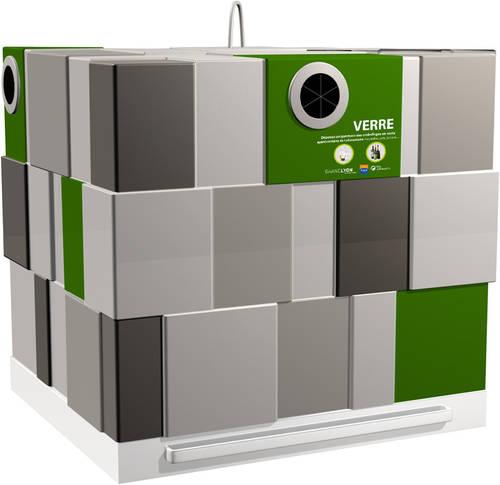 des conteneurs au design communicant favorisent le tri des d chets my eco design. Black Bedroom Furniture Sets. Home Design Ideas