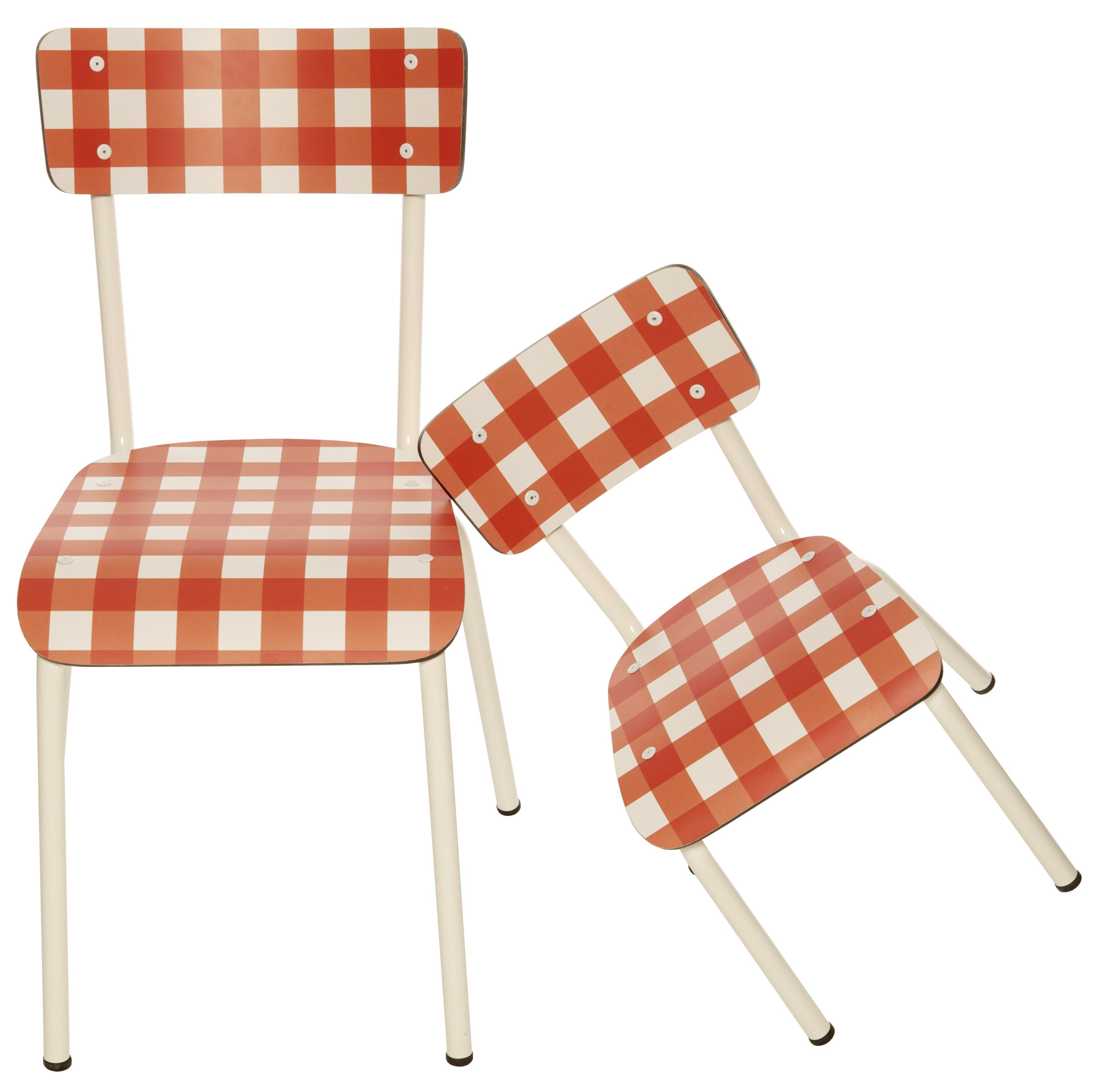 chaise little suzie une chaise enfant r tro design par les gambettes my eco design. Black Bedroom Furniture Sets. Home Design Ideas
