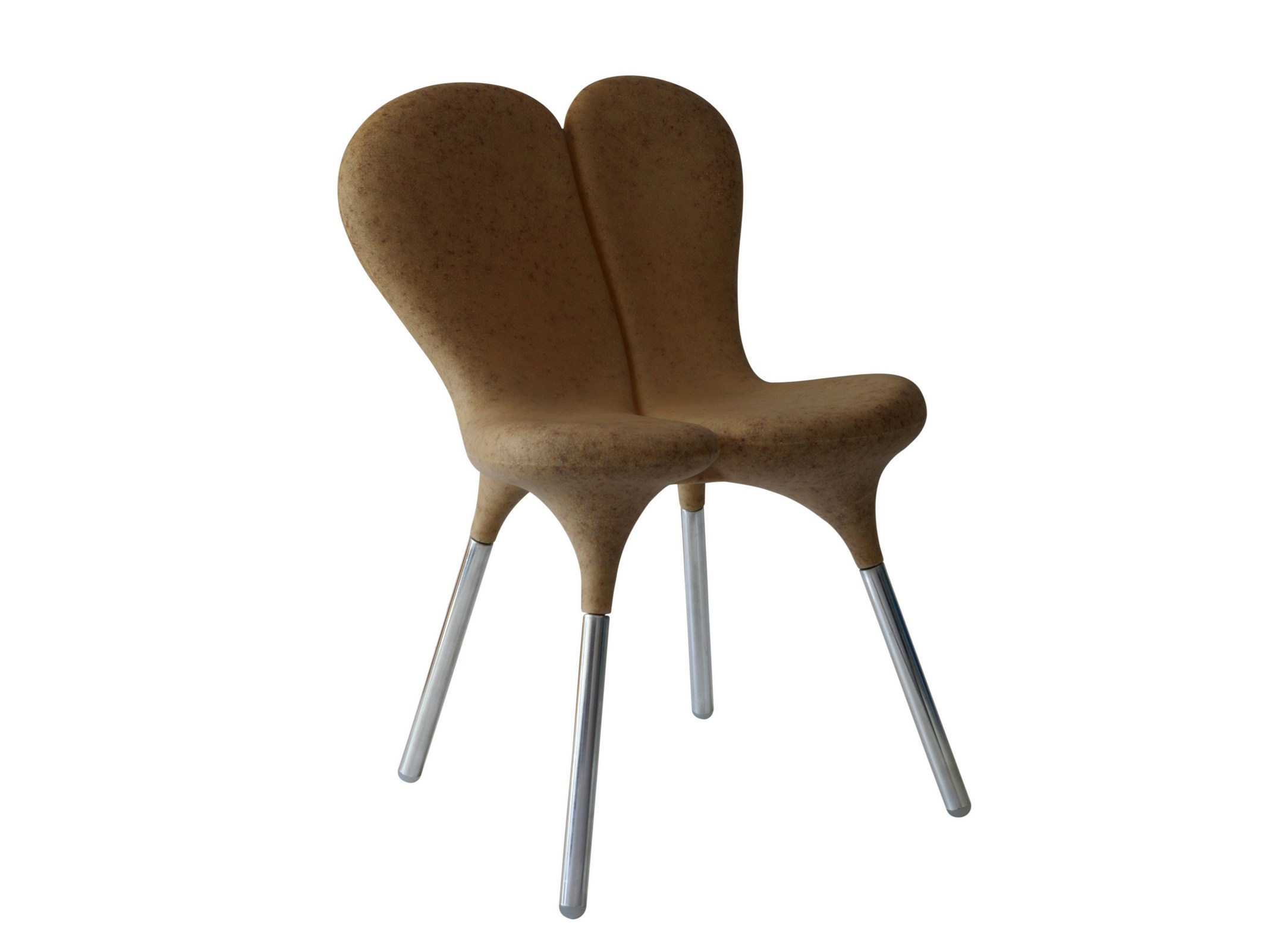 Siamese la chaise en plastique cologique design by - Chaise plastique design ...