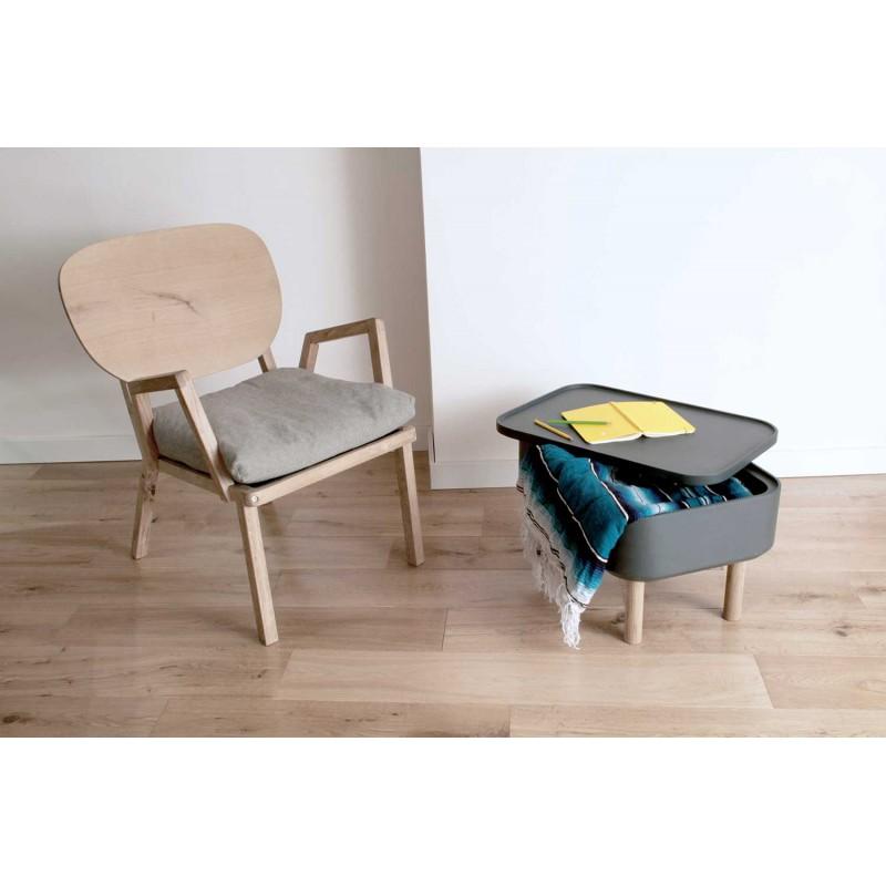 Dada, le fauteuil éco design en chêne massif