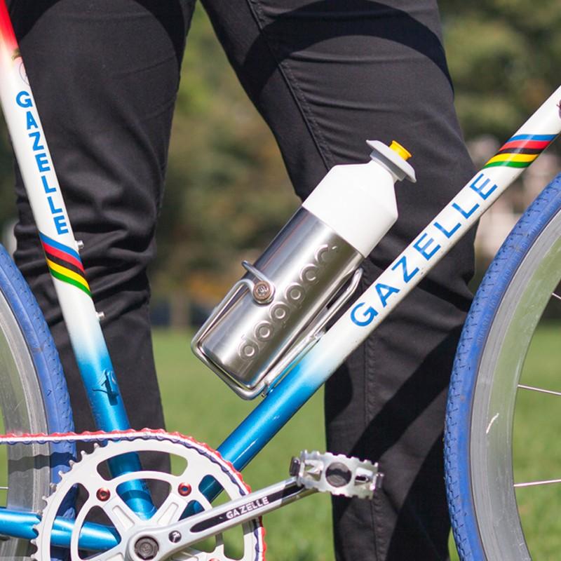Gourde sport inox pour le vélo